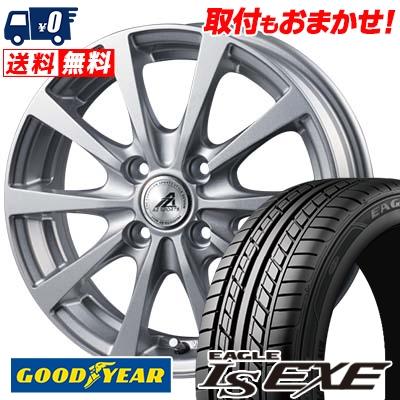 175/60R14 79H Goodyear グッドイヤー LS EXE LS エグゼ AZ SPORTS EX10 AZスポーツ EX10 サマータイヤホイール4本セット