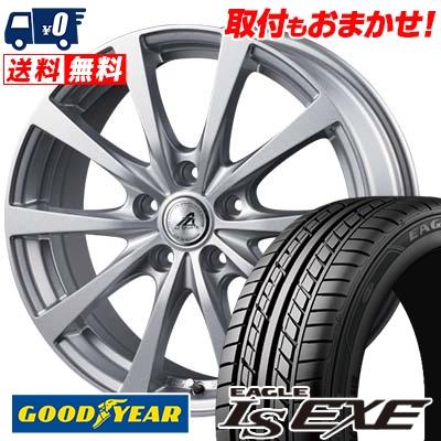 215/55R16 93V Goodyear グッドイヤー LS EXE LS エグゼ AZ SPORTS EX10 AZスポーツ EX10 サマータイヤホイール4本セット【取付対象】
