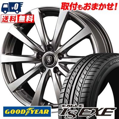 245/45R17 95W Goodyear グッドイヤー LS EXE LS エグゼ Euro Speed G10 ユーロスピード G10 サマータイヤホイール4本セット