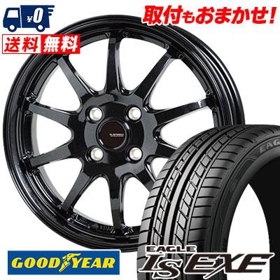 195/50R15 82V Goodyear グッドイヤー LS EXE LS エグゼ G.speed G-04 Gスピード G-04 サマータイヤホイール4本セット