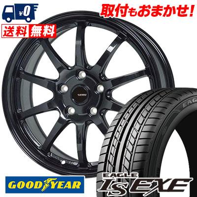 215/55R16 93V Goodyear グッドイヤー LS EXE LS エグゼ G.speed G-04 Gスピード G-04 サマータイヤホイール4本セット【取付対象】