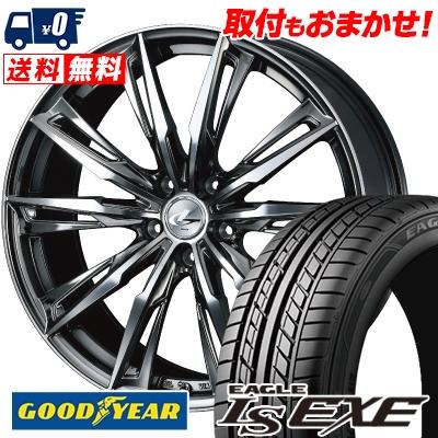 235/45R17 94W Goodyear グッドイヤー LS EXE LS エグゼ WEDS LEONIS GX ウェッズ レオニス GX サマータイヤホイール4本セット