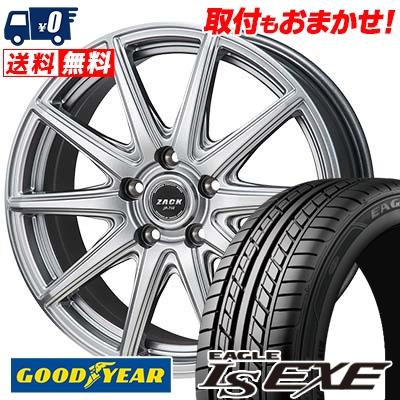 195/60R15 88H Goodyear グッドイヤー LS EXE LS エグゼ ZACK JP-710 ザック ジェイピー710 サマータイヤホイール4本セット