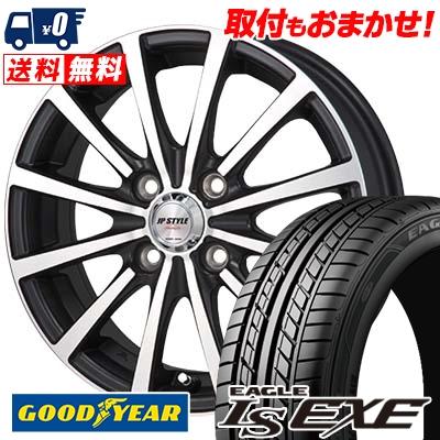 195/45R16 84W XL Goodyear グッドイヤー LS EXE LS エグゼ JP STYLE Shangly JPスタイル シャングリー サマータイヤホイール4本セット