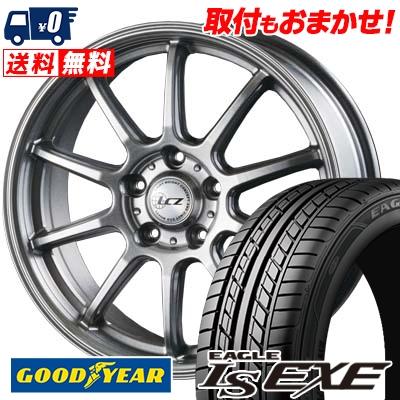 245/45R17 95W Goodyear グッドイヤー LS EXE LS エグゼ LCZ010 LCZ010 サマータイヤホイール4本セット
