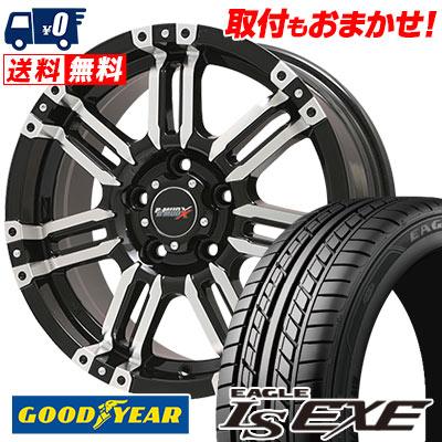 215/65R16 98H Goodyear グッドイヤー LS EXE LS エグゼ B-MUD X Bマッド エックス サマータイヤホイール4本セット