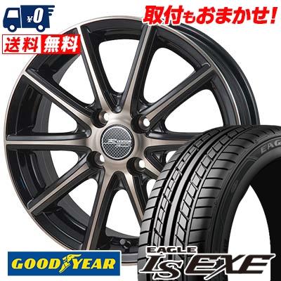 175/60R14 79H Goodyear グッドイヤー LS EXE LS エグゼ MONZA R VERSION Sprint モンツァ Rヴァージョン スプリント サマータイヤホイール4本セット