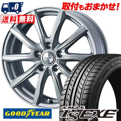 235/45R17 94W Goodyear グッドイヤー LS EXE LS エグゼ JOKER SHAKE ジョーカー シェイク サマータイヤホイール4本セット