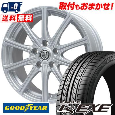 215/55R17 94V Goodyear グッドイヤー LS EXE LS エグゼ TRG-SS10 TRG SS10 サマータイヤホイール4本セット