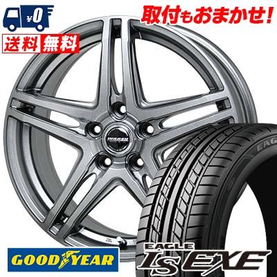 215/65R16 98H Goodyear グッドイヤー LS EXE LS エグゼ WAREN W04 ヴァーレン W04 サマータイヤホイール4本セット