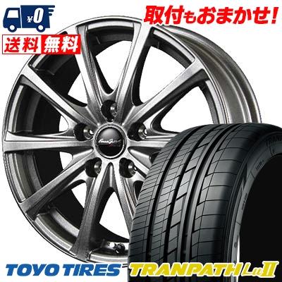 225/55R18 TOYO TIRES トーヨー タイヤ TRANPATH Lu2 トランパス Lu2 EuroSpeed V25 ユーロスピード V25 サマータイヤホイール4本セット