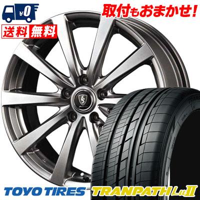 215/60R17 96V TOYO TIRES トーヨー タイヤ TRANPATH Lu2 トランパス Lu2 Euro Speed G10 ユーロスピード G10 サマータイヤホイール4本セット