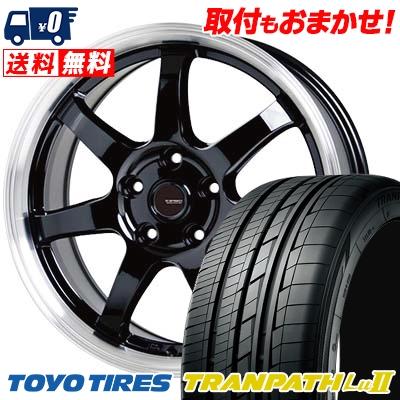 215/65R16 98V TOYO TIRES トーヨー タイヤ TRANPATH Lu2 トランパス Lu2 G.speed P-03 ジースピード P-03 サマータイヤホイール4本セット