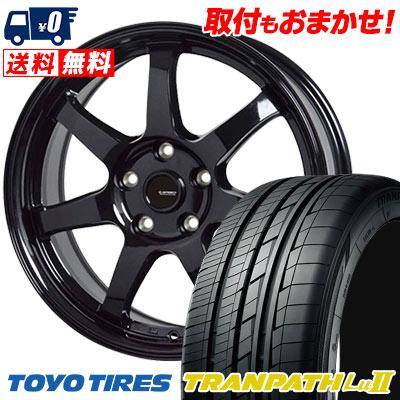 215/65R16 98V TOYO TIRES トーヨー タイヤ TRANPATH Lu2 トランパス Lu2 G.speed G-03 Gスピード G-03 サマータイヤホイール4本セット