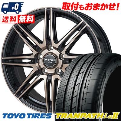 215/65R16 TOYO TIRES トーヨー タイヤ TRANPATH Lu2 トランパス Lu2 JP STYLE JERIVA JPスタイル ジェリバ サマータイヤホイール4本セット