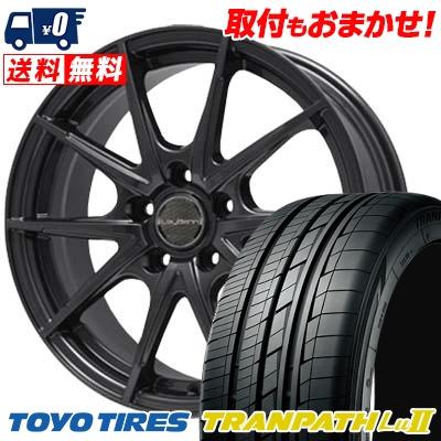 235/50R18 TOYO TIRES トーヨー タイヤ TRANPATH Lu2 トランパス Lu2 LeyBahn WGS レイバーン WGS サマータイヤホイール4本セット