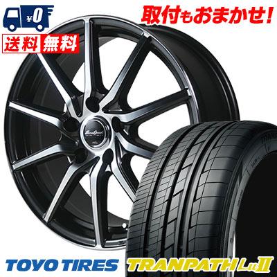 215/65R16 98V TOYO TIRES トーヨー タイヤ TRANPATH Lu2 トランパス Lu2 EuroSpeed S810 ユーロスピード S810 サマータイヤホイール4本セット