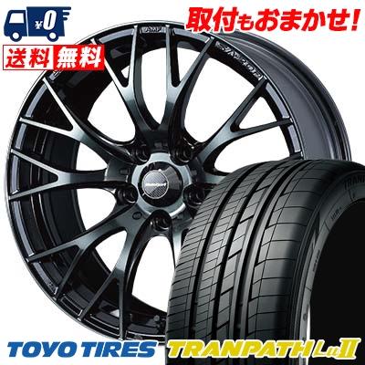 235/50R18 TOYO TIRES トーヨー タイヤ TRANPATH Lu2 トランパス Lu2 WedsSport SA-20R ウェッズスポーツ SA20R サマータイヤホイール4本セット