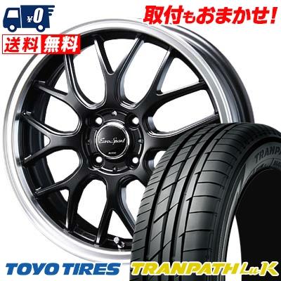 155/65R14 75H TOYO TIRES トーヨー タイヤ TRANPATH LuK トランパス LuK Eoro Sport Type 805 ユーロスポーツ タイプ805 サマータイヤホイール4本セット