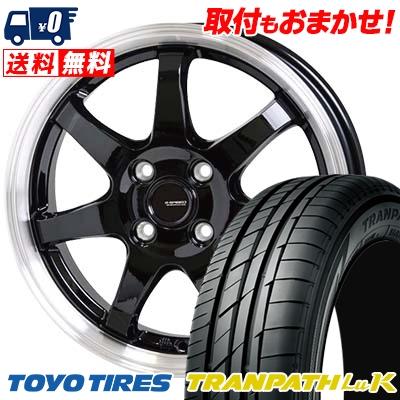 165/60R14 75H TOYO TIRES トーヨー タイヤ TRANPATH LuK トランパス LuK G.speed P-03 ジースピード P-03 サマータイヤホイール4本セット
