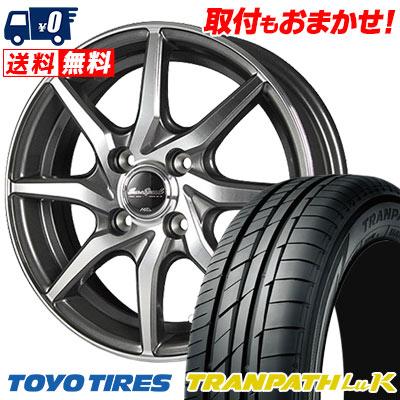 155/65R14 75H TOYO TIRES トーヨー タイヤ TRANPATH LuK トランパス LuK EuroSpeed S810 ユーロスピード S810 サマータイヤホイール4本セット