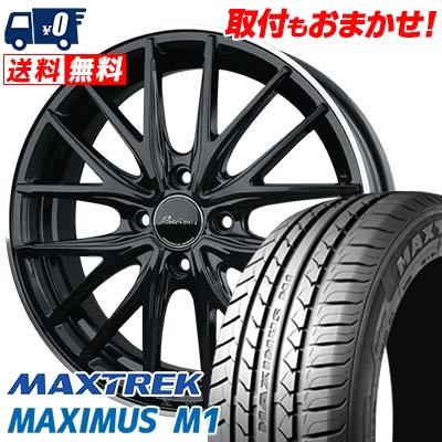 195/55R16 87V MAXTREK マックストレック MAXIMUS M1 マキシマス エムワン Precious AST M1 プレシャス アスト M1 サマータイヤホイール4本セット
