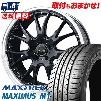 215/40R17 87W XL MAXTREK マックストレック MAXIMUS M1 マキシマス エムワン Precious AST M2 プレシャス アスト M2 サマータイヤホイール4本セット