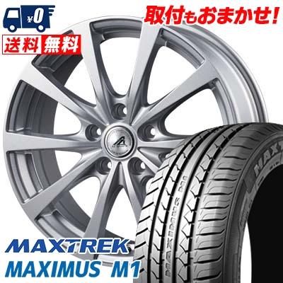 225/50R17 98W XL MAXTREK マックストレック MAXIMUS M1 マキシマス エムワン AZ SPORTS EX10 AZスポーツ EX10 サマータイヤホイール4本セット