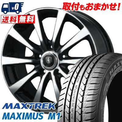 245/40R18 97W XL MAXTREK マックストレック MAXIMUS M1 マキシマス エムワン EUROSPEED BL10 ユーロスピード BL10 サマータイヤホイール4本セット