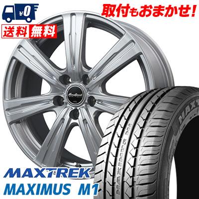 225/50R17 98W XL MAXTREK マックストレック MAXIMUS M1 マキシマス エムワン EuroSpeed C-07 ユーロスピード C-07 サマータイヤホイール4本セット