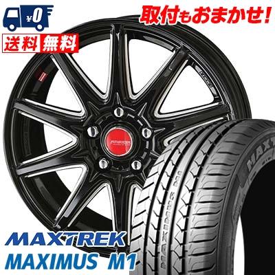 195/60R16 89H MAXTREK マックストレック MAXIMUS M1 マキシマス エムワン RIVAZZA CORSE リヴァッツァ コルセ サマータイヤホイール4本セット