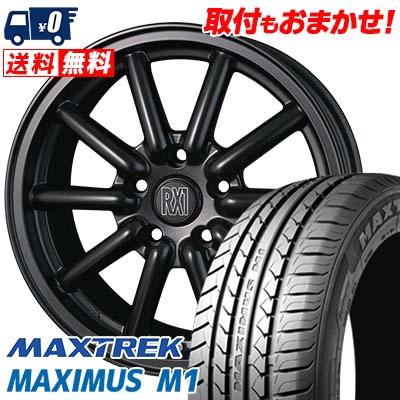 205/60R16 92H MAXTREK マックストレック MAXIMUS M1 マキシマス エムワン ALGERNON Fenice RX1 アルジェノン フェニーチェ RX1 サマータイヤホイール4本セット