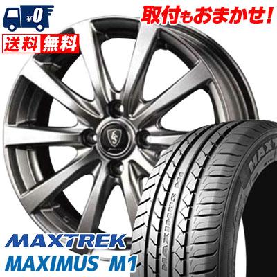 155/65R14 75T MAXTREK マックストレック MAXIMUS M1 マキシマス エムワン Euro Speed G10 ユーロスピード G10 サマータイヤホイール4本セット