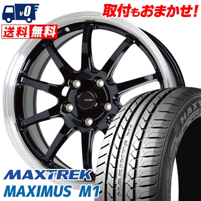 205/60R16 92H MAXTREK マックストレック MAXIMUS M1 マキシマス エムワン G.speed P-04 ジースピード P-04 サマータイヤホイール4本セット