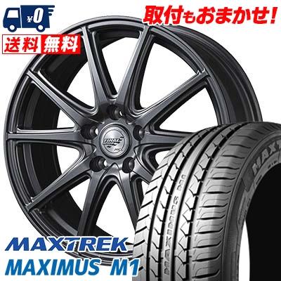 225/60R17 99V MAXTREK マックストレック MAXIMUS M1 マキシマス エムワン FINALSPEED GR-Γ ファイナルスピード GRガンマ サマータイヤホイール4本セット