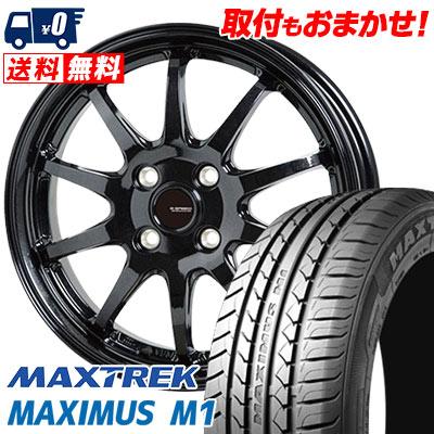 195/55R16 87V MAXTREK マックストレック MAXIMUS M1 マキシマス エムワン G.speed G-04 Gスピード G-04 サマータイヤホイール4本セット