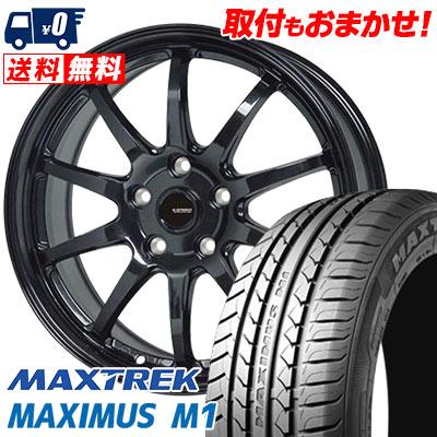 205/55R16 94V XL MAXTREK マックストレック MAXIMUS M1 マキシマス エムワン G.speed G-04 Gスピード G-04 サマータイヤホイール4本セット