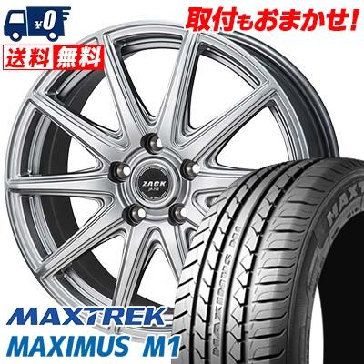 225/60R17 99V MAXTREK マックストレック MAXIMUS M1 マキシマス エムワン ZACK JP-710 ザック ジェイピー710 サマータイヤホイール4本セット
