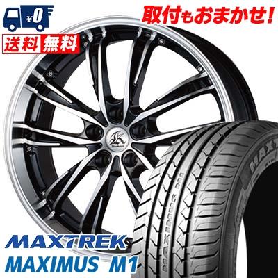 235/35R19 91W XL MAXTREK マックストレック MAXIMUS M1 マキシマス エムワン Kashina XV5 カシーナ XV5 サマータイヤホイール4本セット