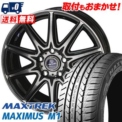 225/55R17 101V XL MAXTREK マックストレック MAXIMUS M1 マキシマス エムワン SMACK LAVINE スマック ラヴィーネ サマータイヤホイール4本セット