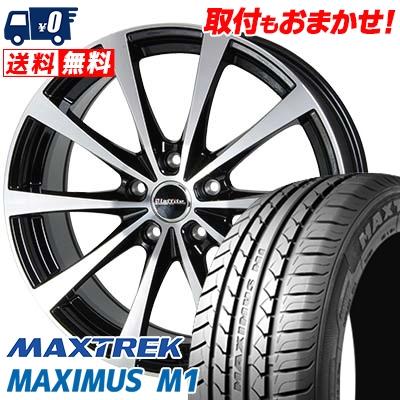 205/55R16 94V XL MAXTREK マックストレック MAXIMUS M1 マキシマス エムワン Laffite LE-03 ラフィット LE-03 サマータイヤホイール4本セット