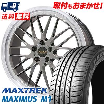 225/60R17 99V MAXTREK マックストレック MAXIMUS M1 マキシマス エムワン Leycross REZERVA レイクロス レゼルヴァ サマータイヤホイール4本セット
