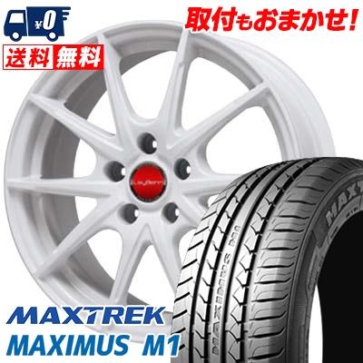 205/60R16 92H MAXTREK マックストレック MAXIMUS M1 マキシマス エムワン LeyBahn WGS レイバーン WGS サマータイヤホイール4本セット【取付対象】