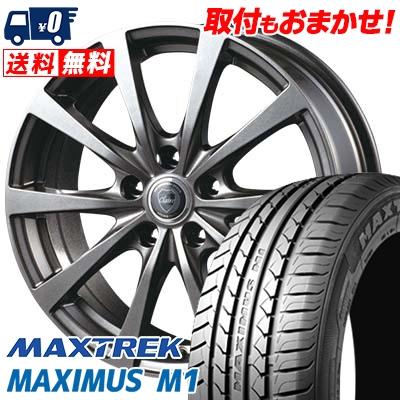 225/60R17 99V MAXTREK マックストレック MAXIMUS M1 マキシマス エムワン CLAIRE RG10 クレール RG10 サマータイヤホイール4本セット