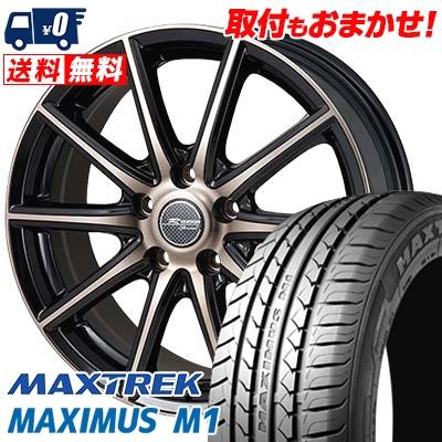 215/50R17 95V XL MAXTREK マックストレック MAXIMUS M1 マキシマス エムワン MONZA R VERSION Sprint モンツァ Rヴァージョン スプリント サマータイヤホイール4本セット