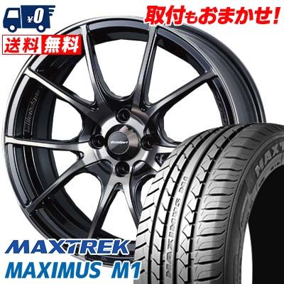 215/40R17 87W XL MAXTREK マックストレック MAXIMUS M1 マキシマス エムワン wedsSport SA-10R ウエッズスポーツ SA10R サマータイヤホイール4本セット【取付対象】