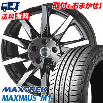 205/55R16 94V XL MAXTREK マックストレック MAXIMUS M1 マキシマス エムワン SMACK SFIDA スマック スフィーダ サマータイヤホイール4本セット
