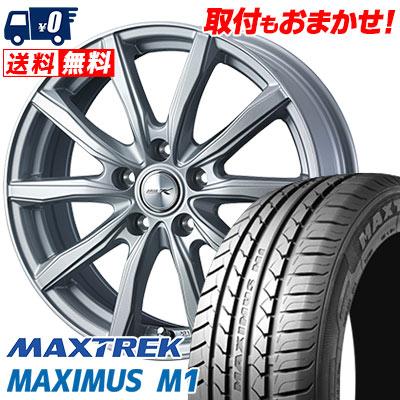 195/60R16 89H MAXTREK マックストレック MAXIMUS M1 マキシマス エムワン JOKER SHAKE ジョーカー シェイク サマータイヤホイール4本セット