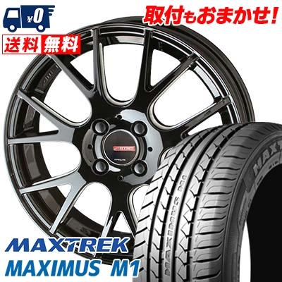 205/60R16 92H MAXTREK マックストレック MAXIMUS M1 マキシマス エムワン CIRCLAR RM-7 サーキュラー RM-7 サマータイヤホイール4本セット