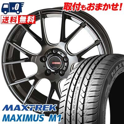 245/40R19 98W XL MAXTREK マックストレック MAXIMUS M1 マキシマス エムワン CIRCLAR RM-7 サーキュラー RM-7 サマータイヤホイール4本セット
